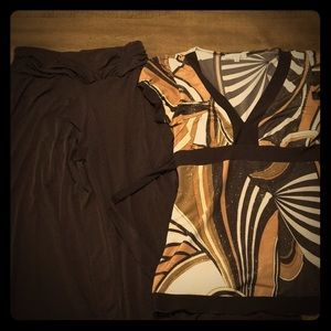 Brown/Tan/Gold Dress Pants Outfit from 2006